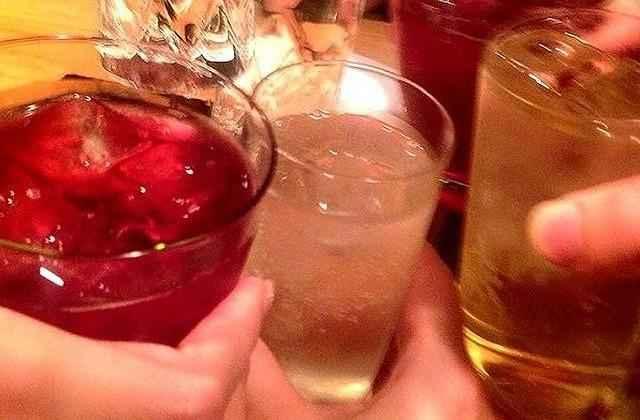乾杯飲み会